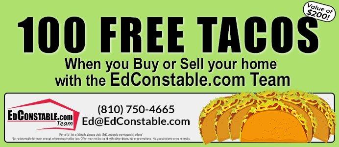 Refer A Friend Free Tacos Certificate